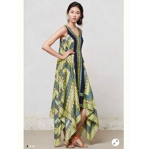 NWT Anthro Ranna Gill Sahila Maxi Dress Sz S